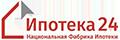 «Национальная Фабрика Ипотеки» (зарегистрированный бренд Ипотека24) - логотип